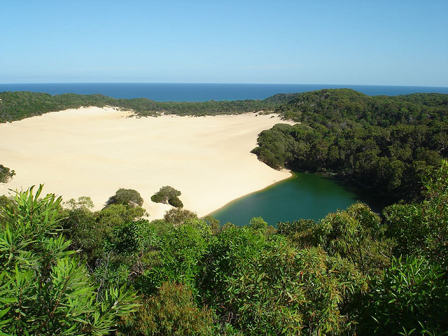 Playa Fraser Island Australia